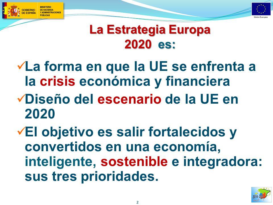 La Estrategia Europa 2020 es:
