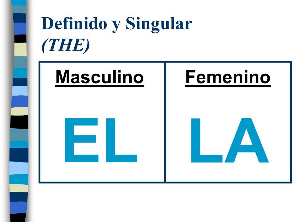 Definido y Singular (THE)