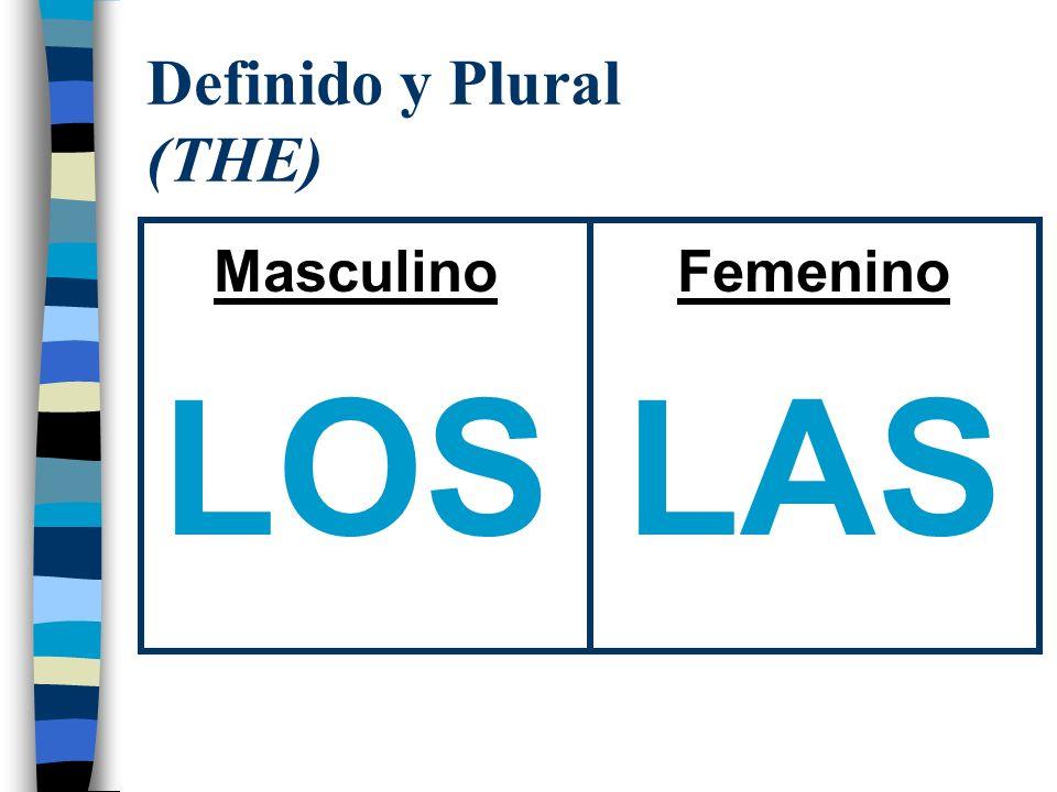 Definido y Plural (THE)