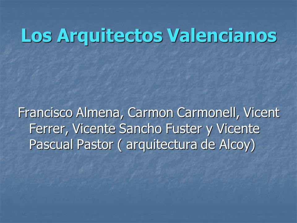 Los Arquitectos Valencianos