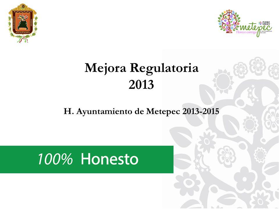 H. Ayuntamiento de Metepec 2013-2015