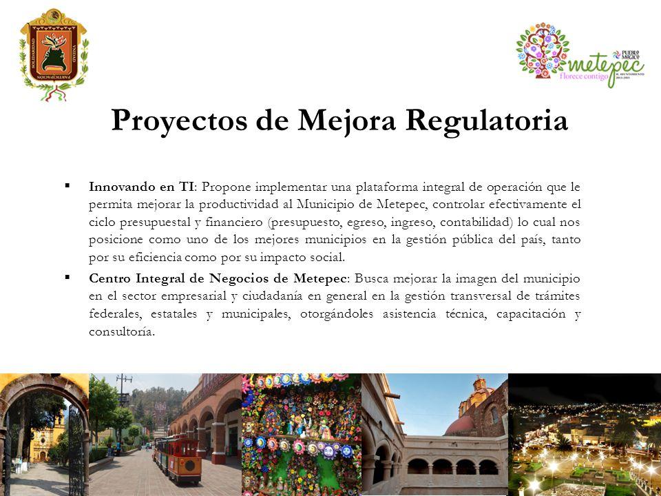 Proyectos de Mejora Regulatoria