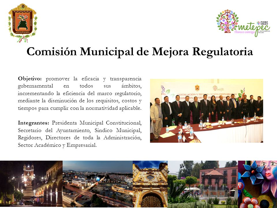 Comisión Municipal de Mejora Regulatoria