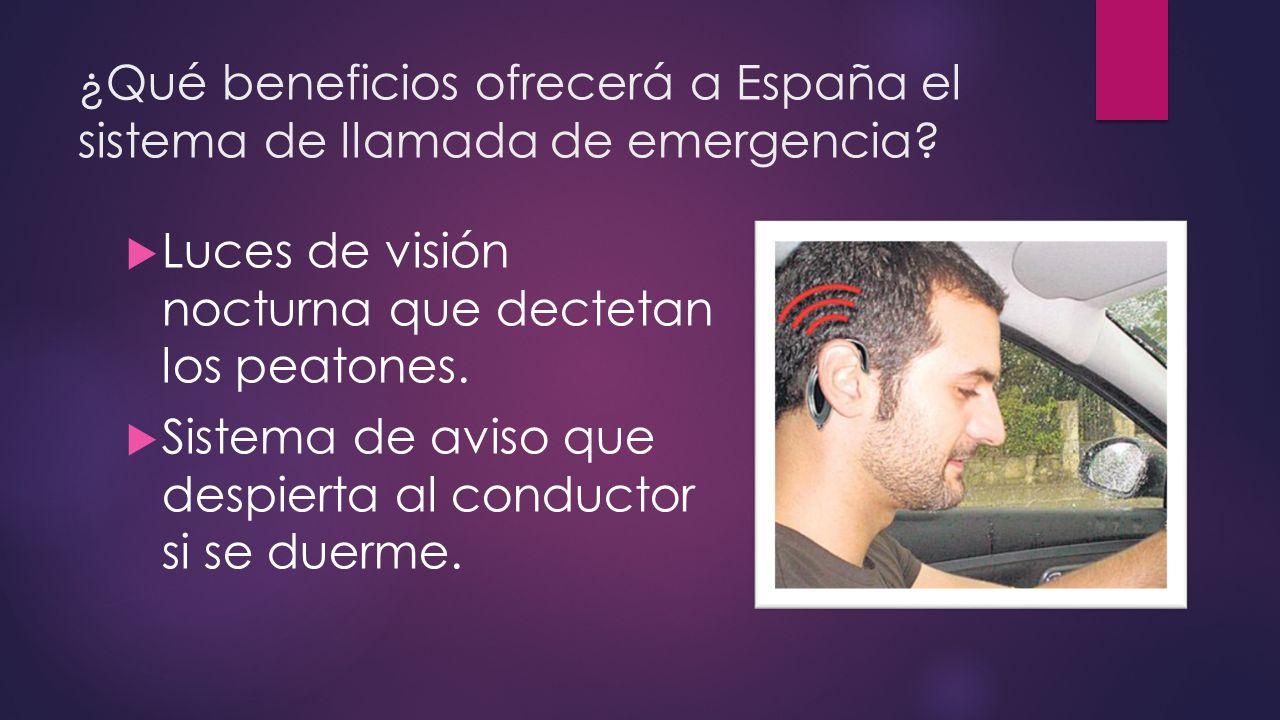 ¿Qué beneficios ofrecerá a España el sistema de llamada de emergencia