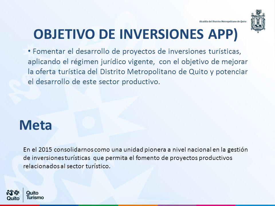 OBJETIVO DE INVERSIONES APP)