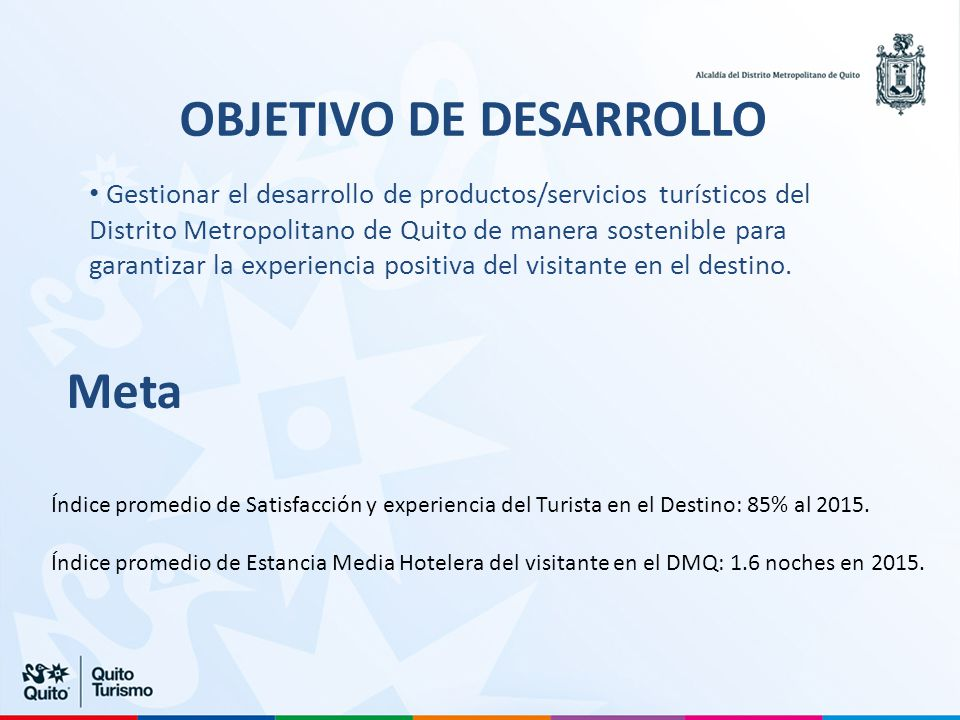 OBJETIVO DE DESARROLLO
