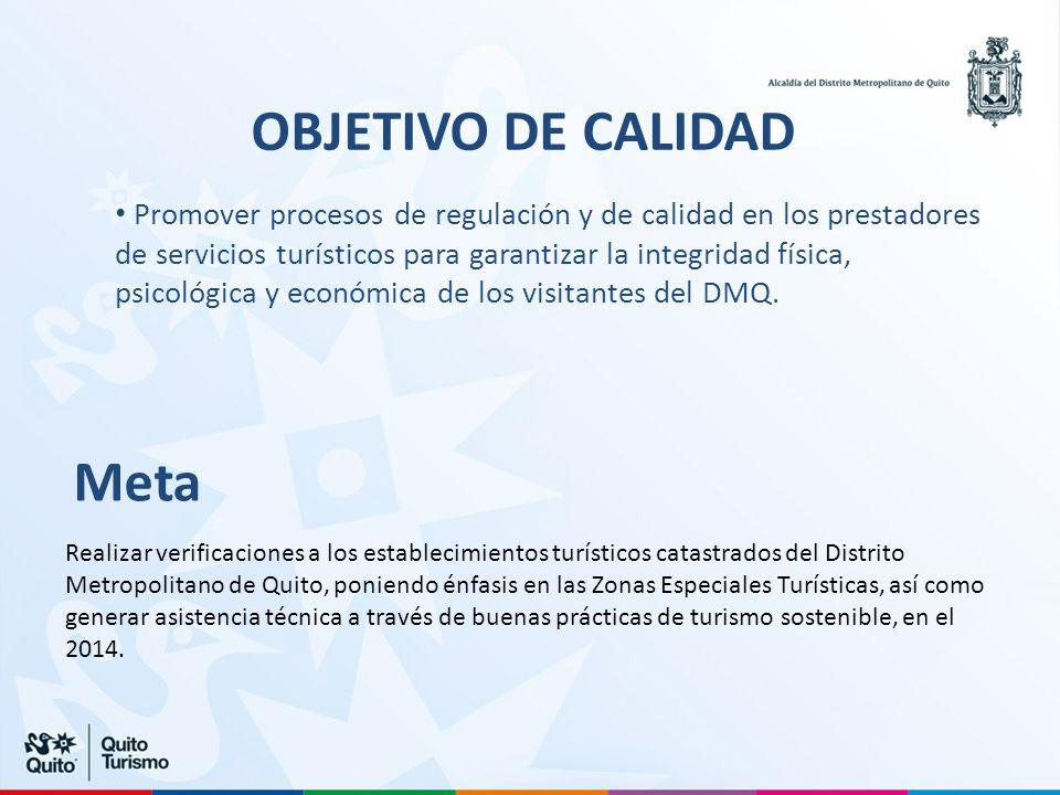 OBJETIVO DE CALIDAD Meta