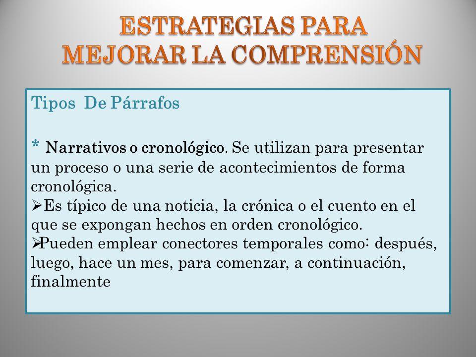ESTRATEGIAS PARA MEJORAR LA COMPRENSIÓN