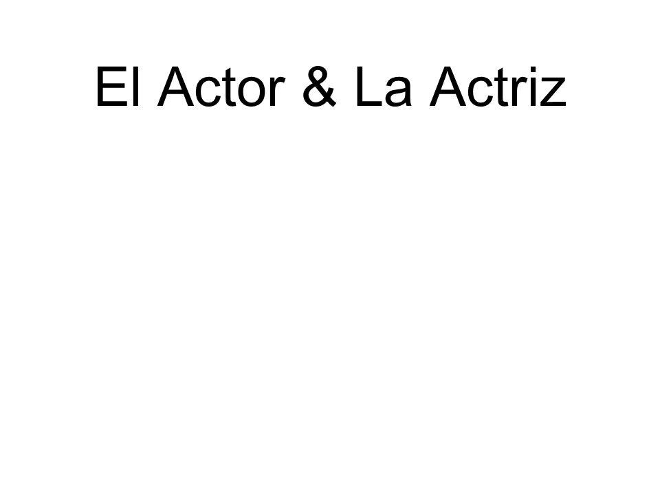 El Actor & La Actriz