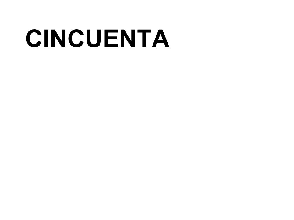 CINCUENTA