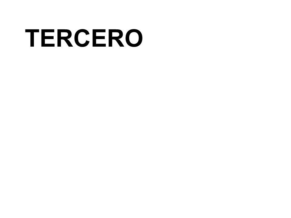 TERCERO