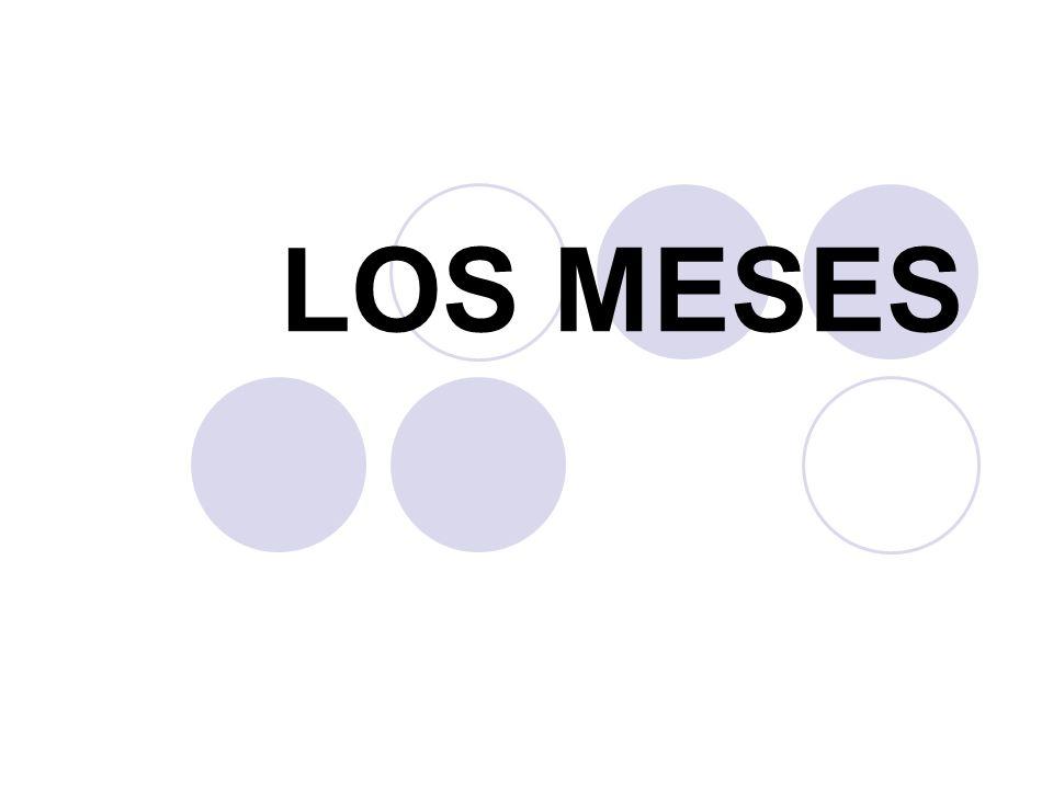 LOS MESES
