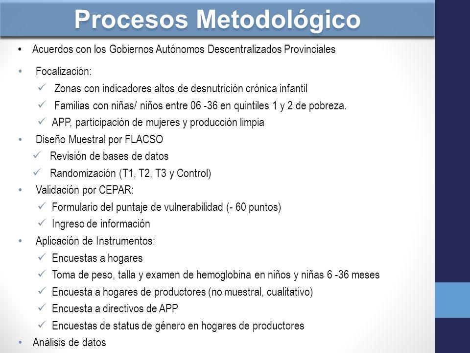 Procesos Metodológico
