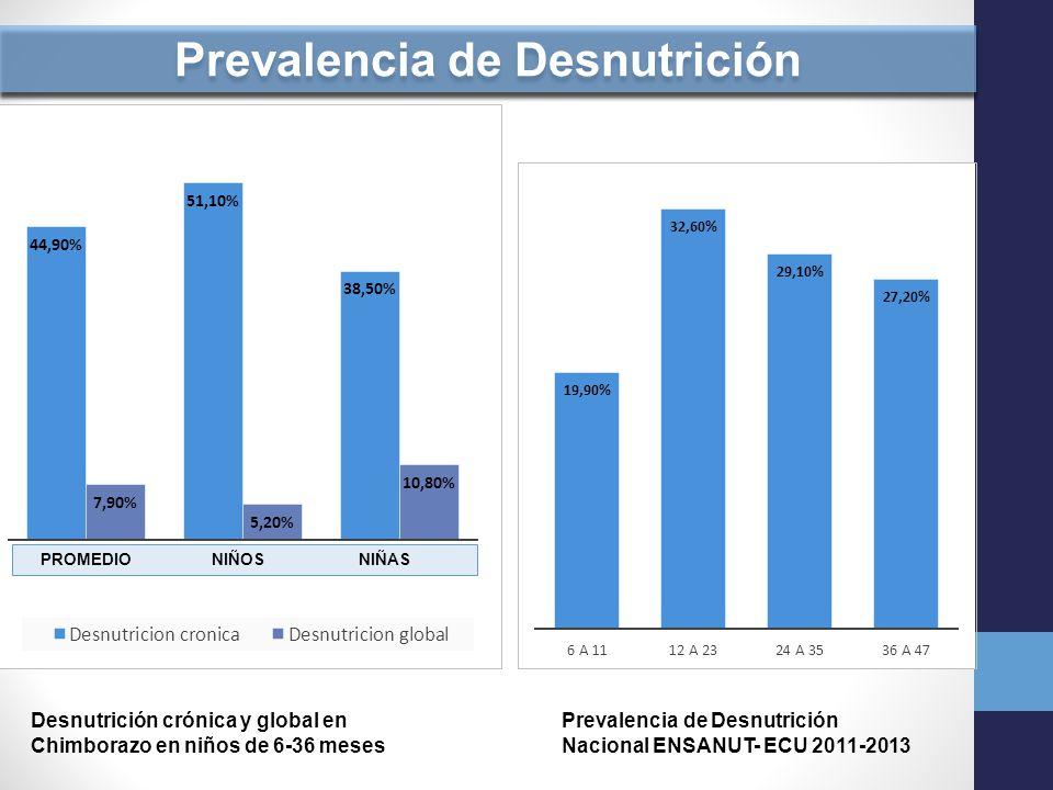 Prevalencia de Desnutrición