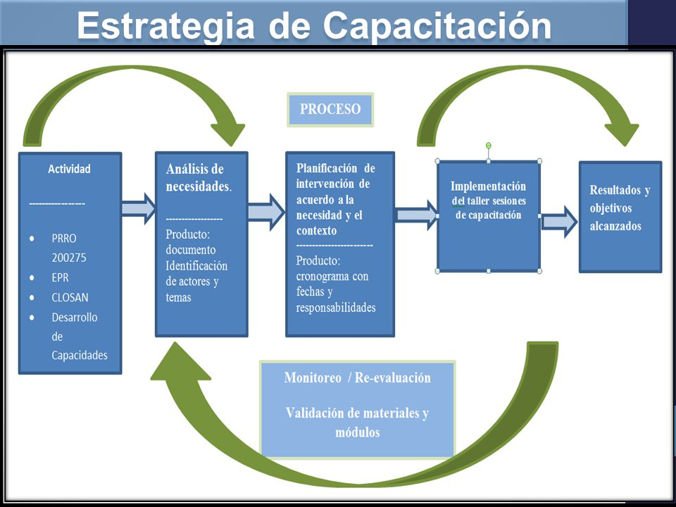 Estrategia de Capacitación