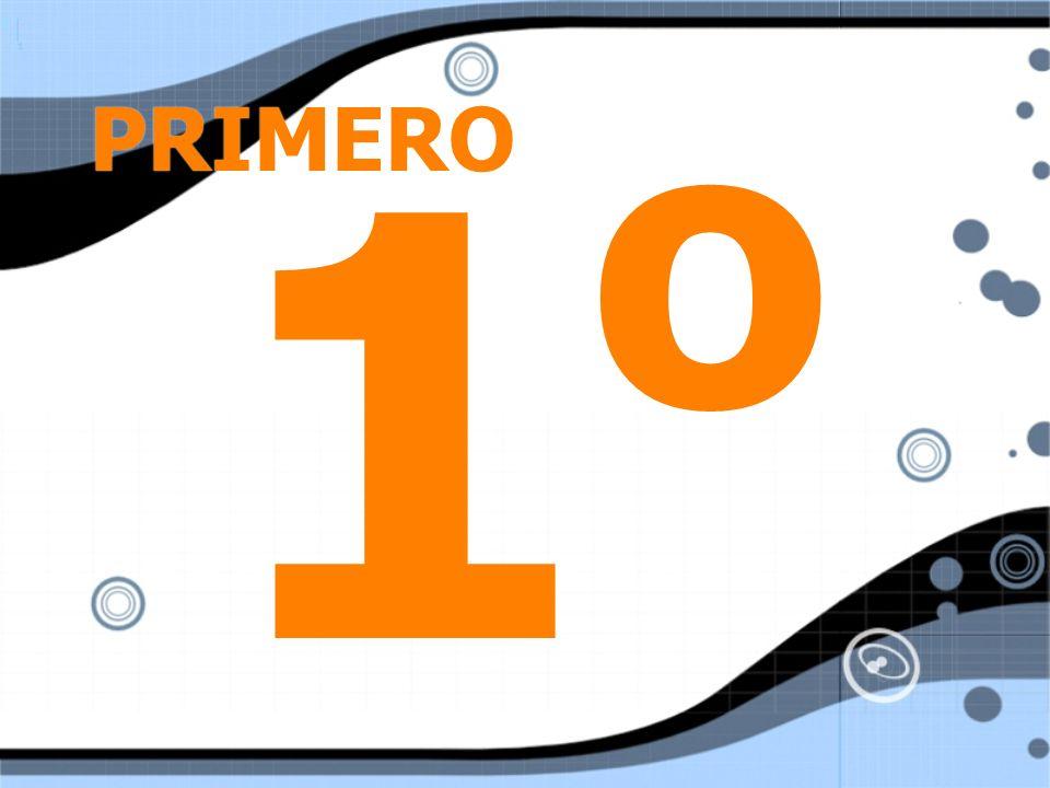 PRIMERO 1o
