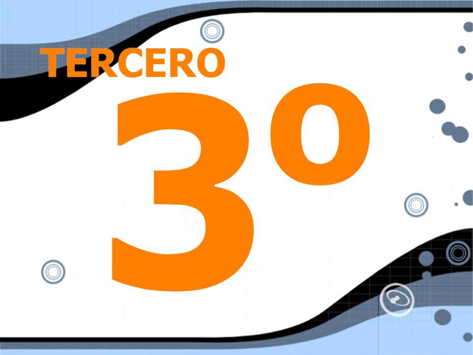 TERCERO 3o