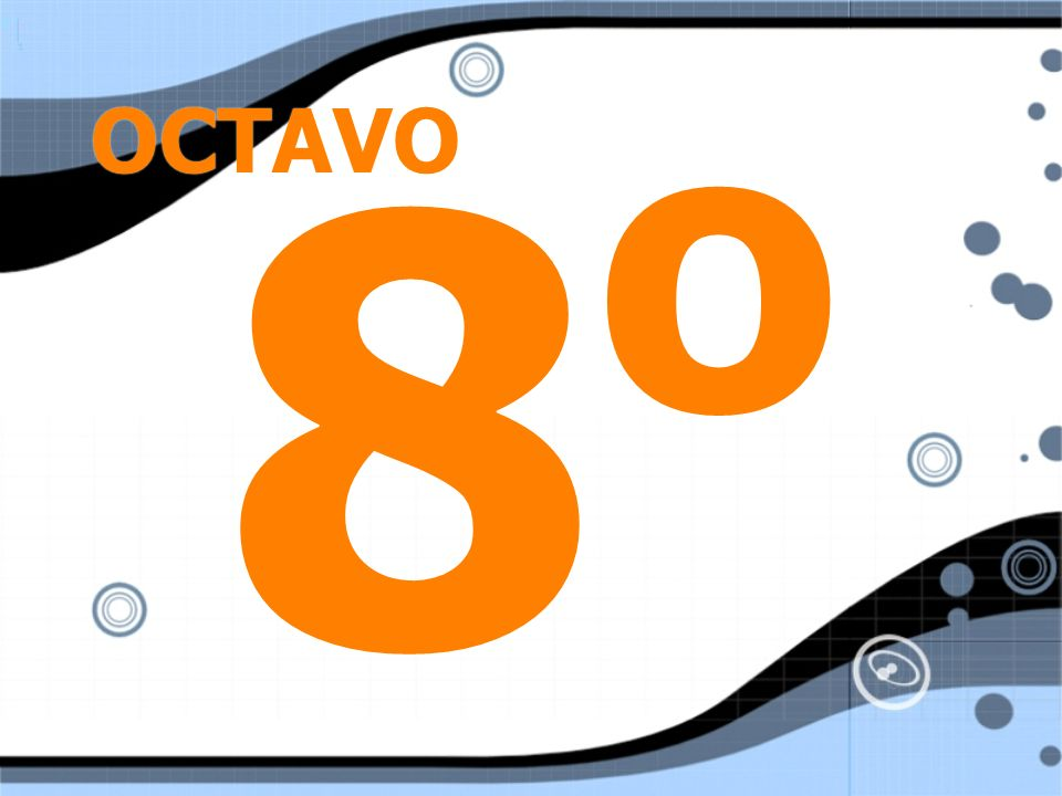 OCTAVO 8o