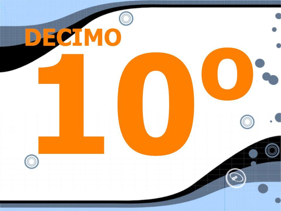 DECIMO 10o