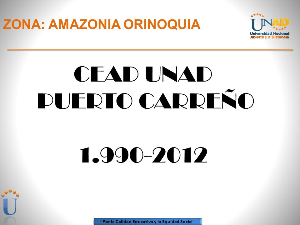 ZONA: AMAZONIA ORINOQUIA