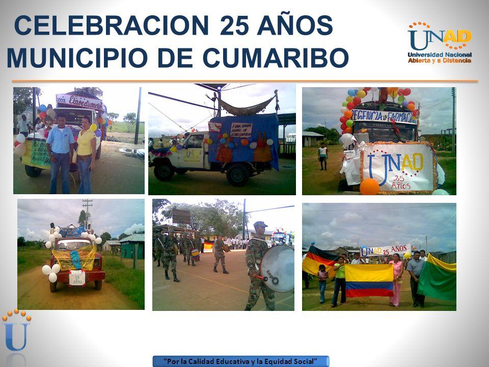 CELEBRACION 25 AÑOS MUNICIPIO DE CUMARIBO