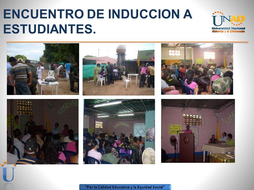 ENCUENTRO DE INDUCCION A ESTUDIANTES.