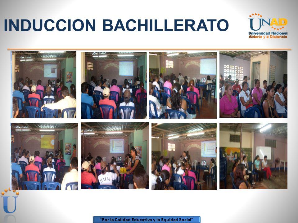 INDUCCION BACHILLERATO