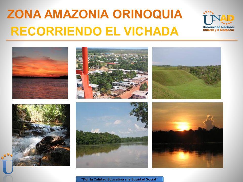 ZONA AMAZONIA ORINOQUIA RECORRIENDO EL VICHADA