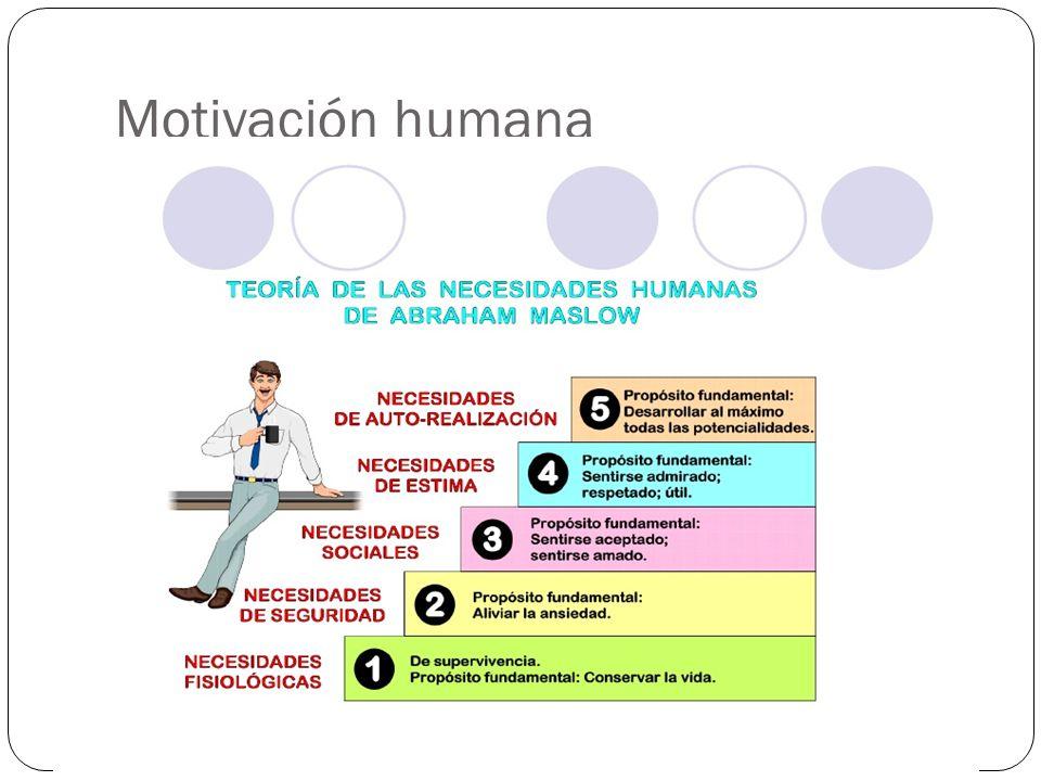 Motivación humana