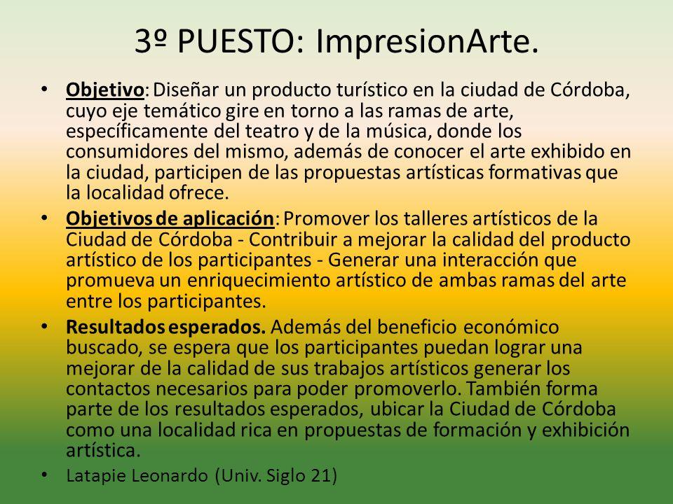 3º PUESTO: ImpresionArte.