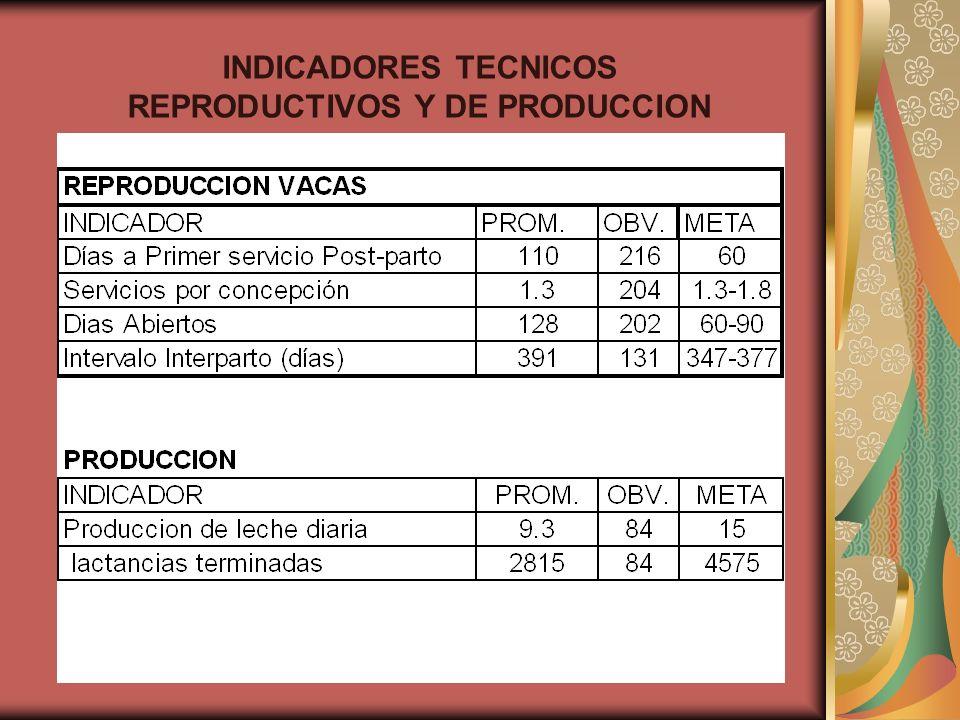 REPRODUCTIVOS Y DE PRODUCCION
