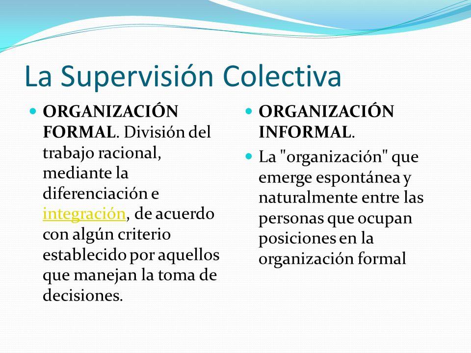 La Supervisión Colectiva