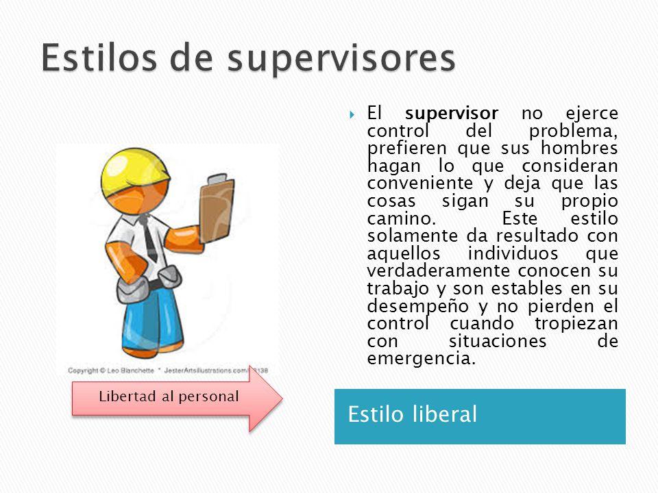 Estilos de supervisores