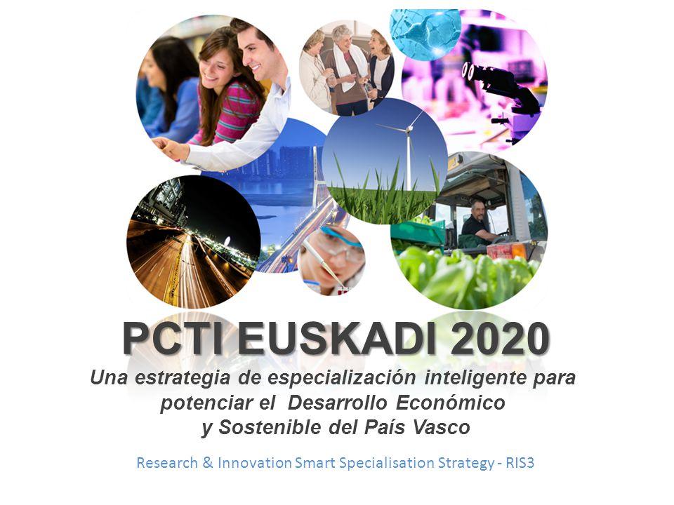 PCTI EUSKADI 2020 Una estrategia de especialización inteligente para