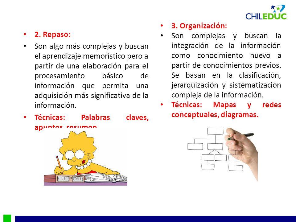 3. Organización: