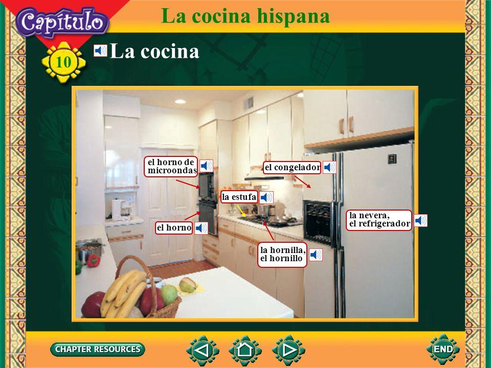 best la cocina hispana la cocina el horno de microondas el congelador with cocinar con horno de lea