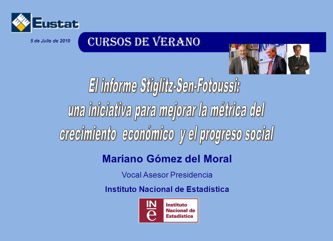 El informe Stiglitz-Sen-Fotoussi: