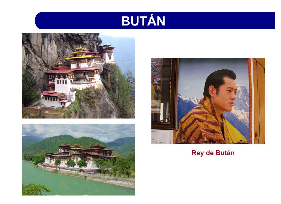 BUTÁN Rey de Bután