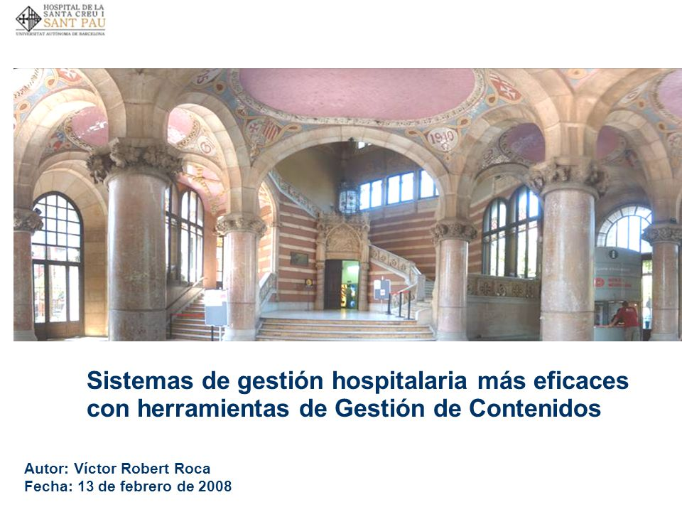 Sistemas de gestión hospitalaria más eficaces con herramientas de Gestión de Contenidos