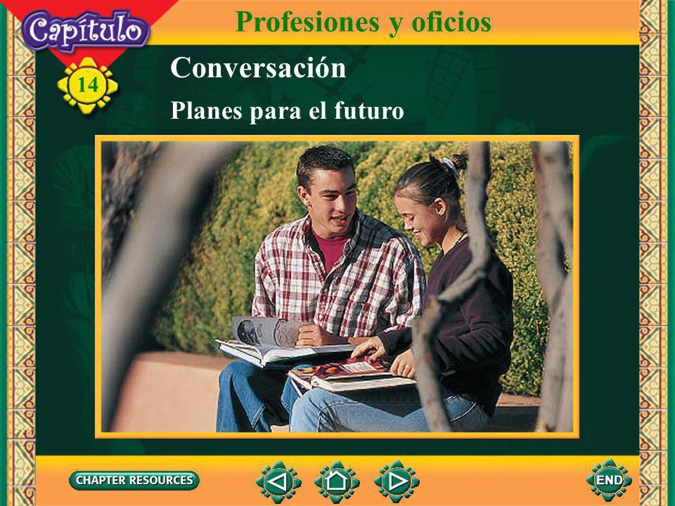 Profesiones y oficios Conversación Planes para el futuro