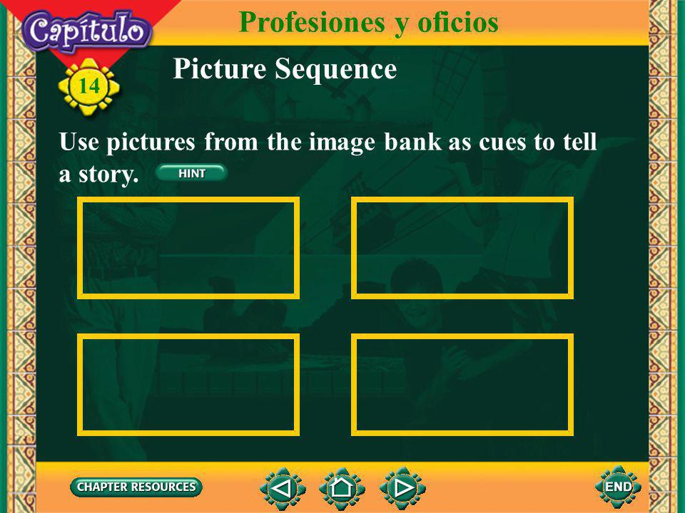 Profesiones y oficios Picture Sequence