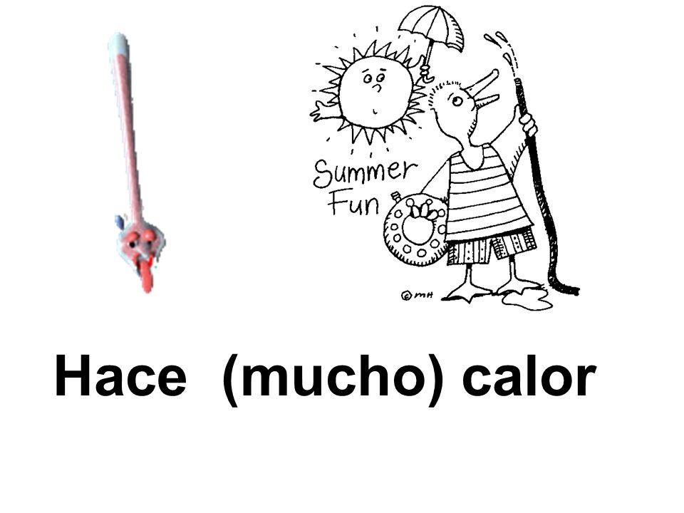 Hace (mucho) calor