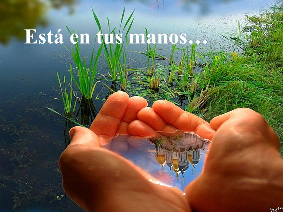 Está en tus manos…