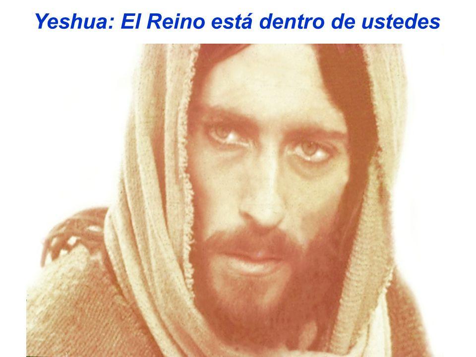 Yeshua: El Reino está dentro de ustedes