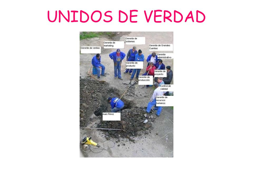 UNIDOS DE VERDAD