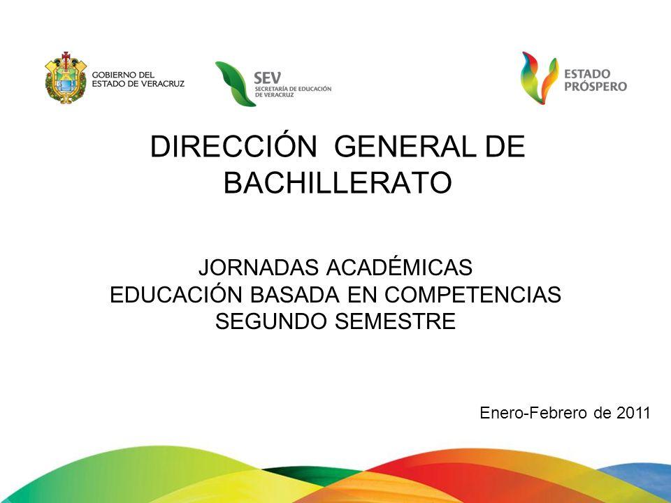 JORNADAS ACADÉMICAS EDUCACIÓN BASADA EN COMPETENCIAS SEGUNDO SEMESTRE