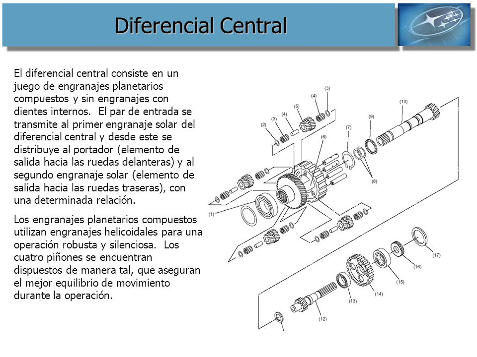 Diferencial Central
