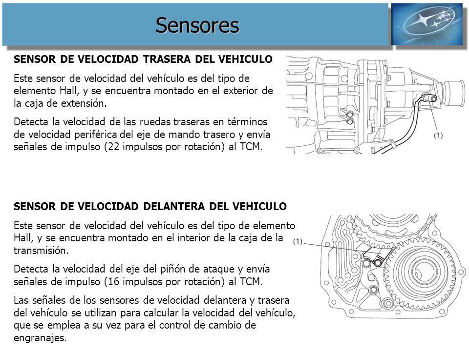 Sensores SENSOR DE VELOCIDAD TRASERA DEL VEHICULO