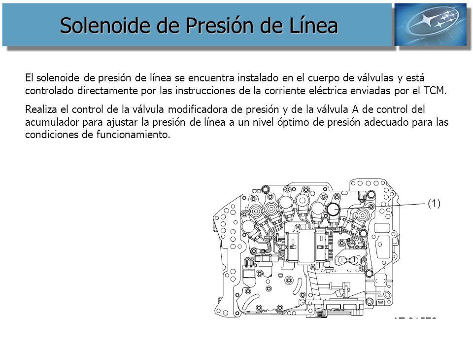 Solenoide de Presión de Línea