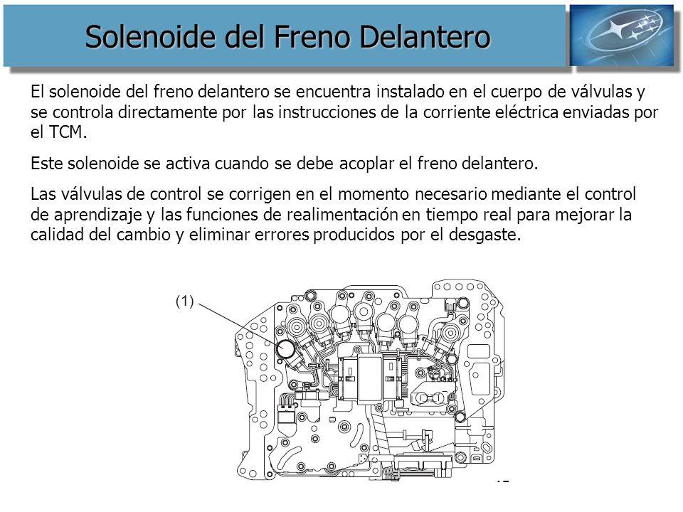 Solenoide del Freno Delantero
